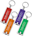 Rectangular LED Keychains